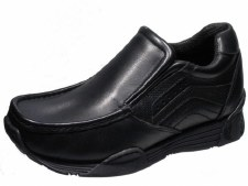 Wrangler 'Lavey' Leather Shoe (Black)