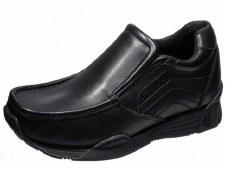 Wrangler 'Lavey' Leather Shoe (Black)