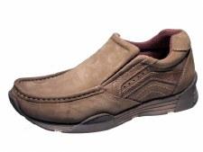 Wrangler 'Lavey' Leather Shoe (Nut)