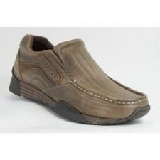 Wrangler 'Lavey' Leather Shoe (Taupe)