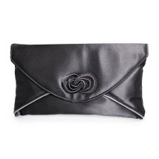 Lunar 'Ripley' Clutch Bag (Black)