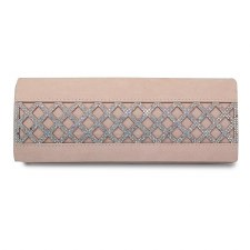 Lunar 'Ibiza' Ladies Clutch Bag (Nude)