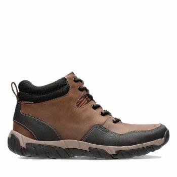Clarks 'Walbeck Top II' Mens Boots (Brown)