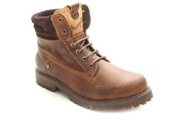 Wrangler 'Yuma' Mens Leather Boots (Tan)
