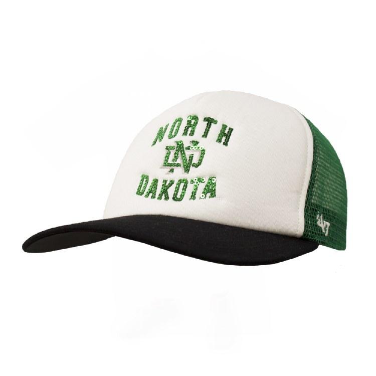 47 BRAND LADIES UNIVERSITY OF NORTH DAKOTA GLIMMER CAP