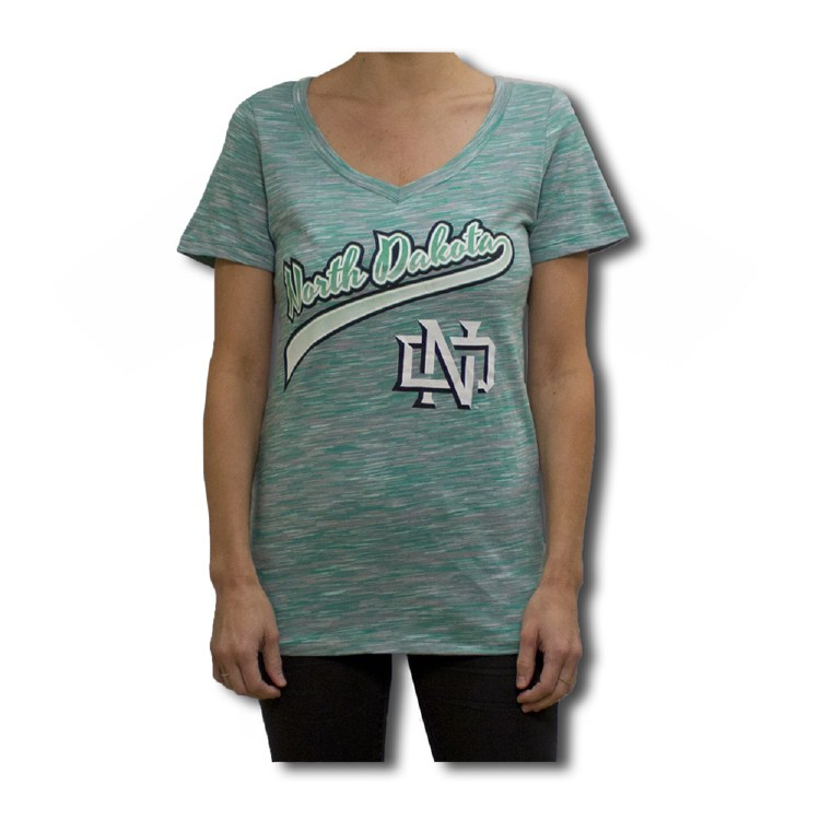 UNIVERSITY OF NORTH DAKOTA GRADIENT SCRIPT TEE