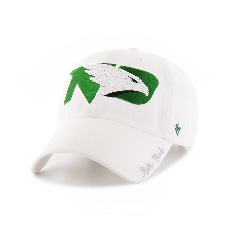 UNIVERSITY OF NORTH DAKOTA FIGHTING HAWKS LADIES SPARKLE HAT
