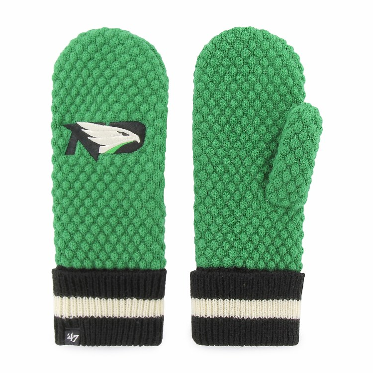 UNIVERSITY OF NORTH DAKOTA FIGHTING HAWKS LADIES LESLIE MITTENS