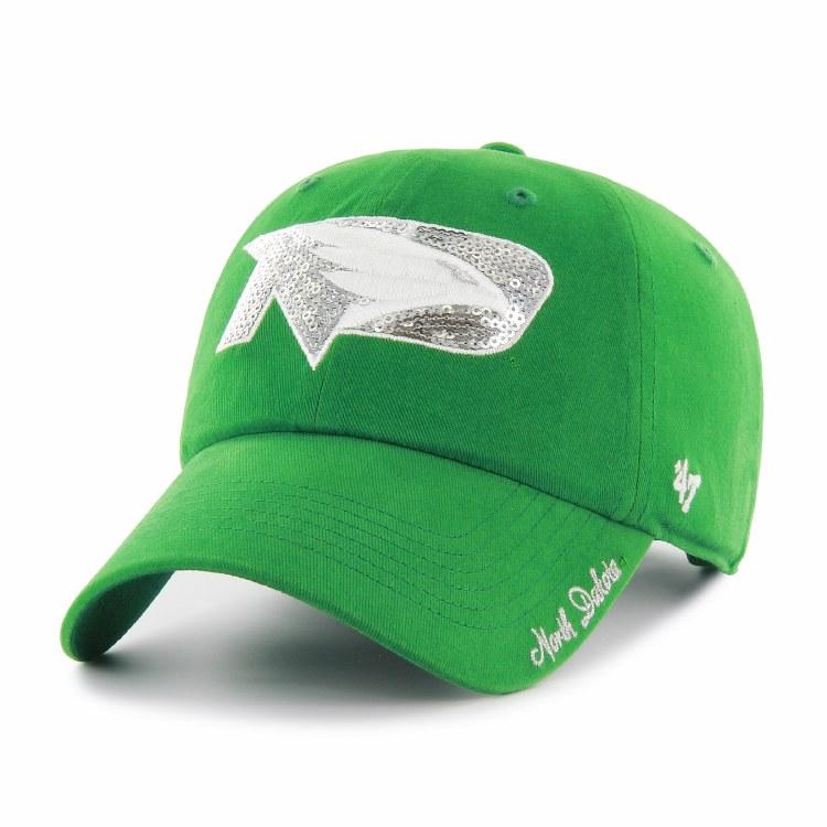 UNIVERSITY OF NORTH DAKOTA FIGHTING HAWKS SPARKLE CLEAN UP HAT