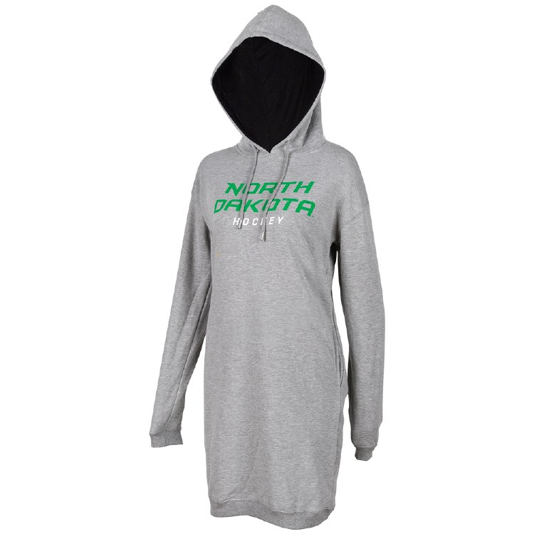 UNIVERSITY OF NORTH DAKOTA HOCKEY SWEATSHIRT DRESS
