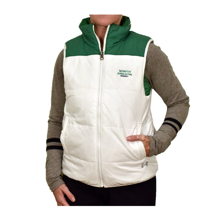 UNIVERSITY OF NORTH DAKOTA HOCKEY WOMENS PUFFER VEST