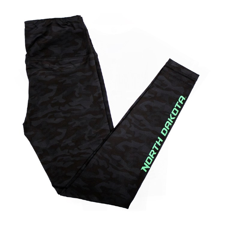 UNIVERSITY OF NORTH DAKOTA HOCKEY CAMO LEGGINGS