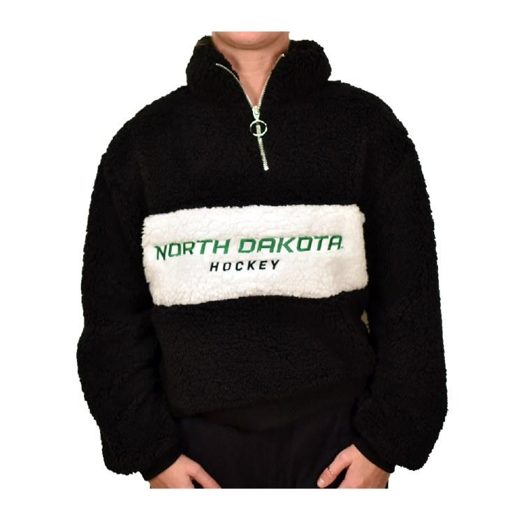 UNIVERSITY OF NORTH DAKOTA HOCKEY TEDDY 1/4 ZIP