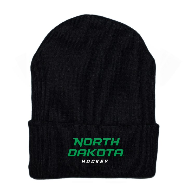 UNIVERSITY OF NORTH DAKOTA HOCKEY NEWBORN KNIT HAT