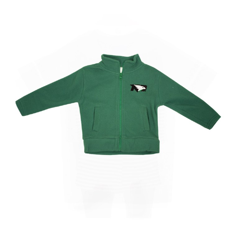 UNIVERSITY OF NORTH DAKOTA FIGHTING HAWKS LIL' FLEECE JACKET