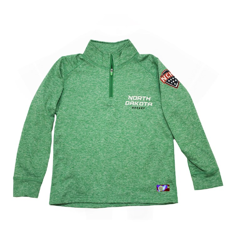 UNIVERSITY OF NORTH DAKOTA HOCKEY KIDS PERFORMANCE 1/4 ZIP