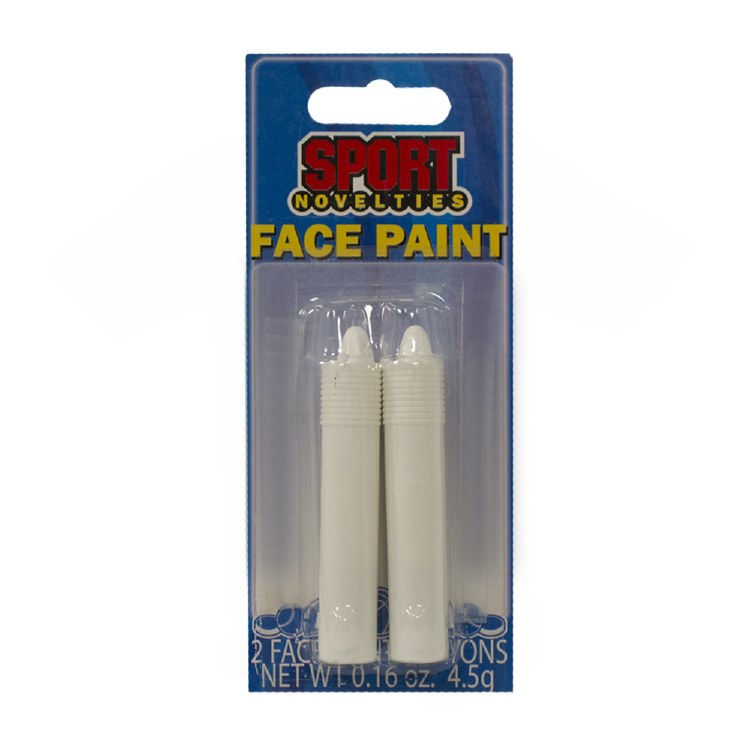 WHITE FACE PAINT