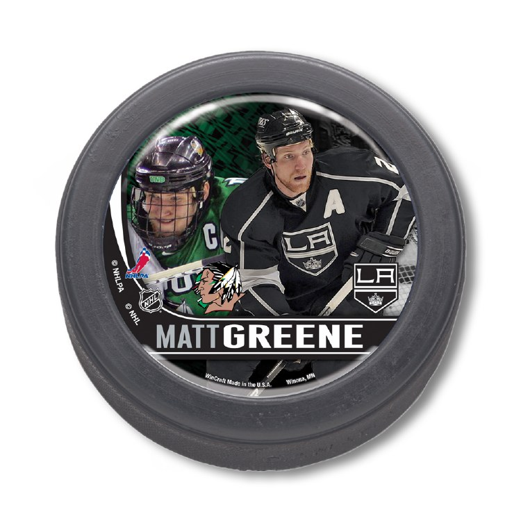 NEXT LEVEL MATT GREENE HOCKEY PUCK