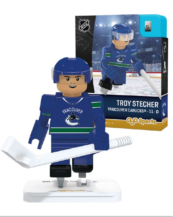 TROY STECHER VANCOUVER CANUCKS OYO MINIFIGURE