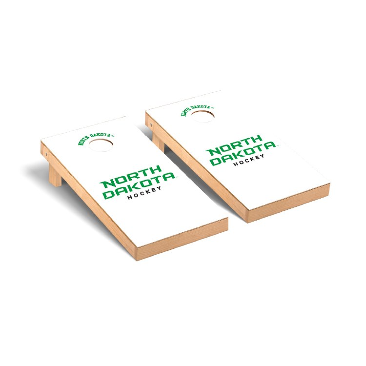 UNIVERSITY OF NORTH DAKOTA HOCKEY CORNHOLE GAME SET