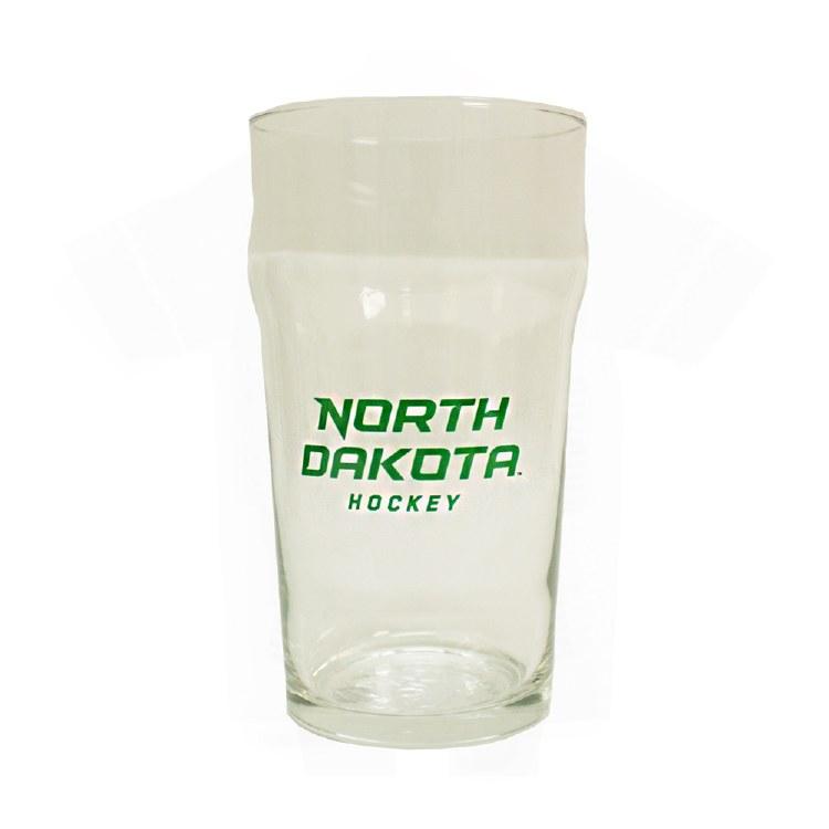 19OZ UNIVERSITY OF NORTH DAKOTA HOCKEY LAGER GLASS