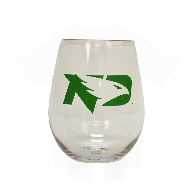 20OZ STEMLESS FIGHTING HAWKS TUMBLER