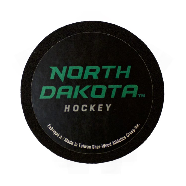 UNIVERSITY OF NORTH DAKOTA HOCKEY MINI FOAM PUCK