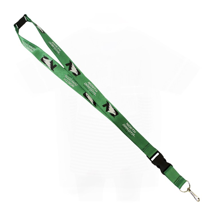 UNIVERSITY OF NORTH DAKOTA FIGHTING HAWKS LANYARD