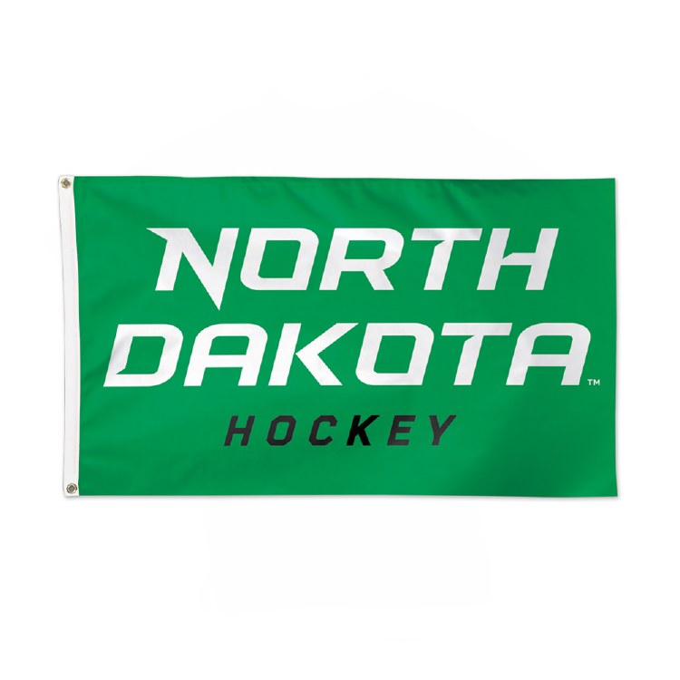 UNIVERSITY OF NORTH DAKOTA HOCKEY 3X5 FLAG