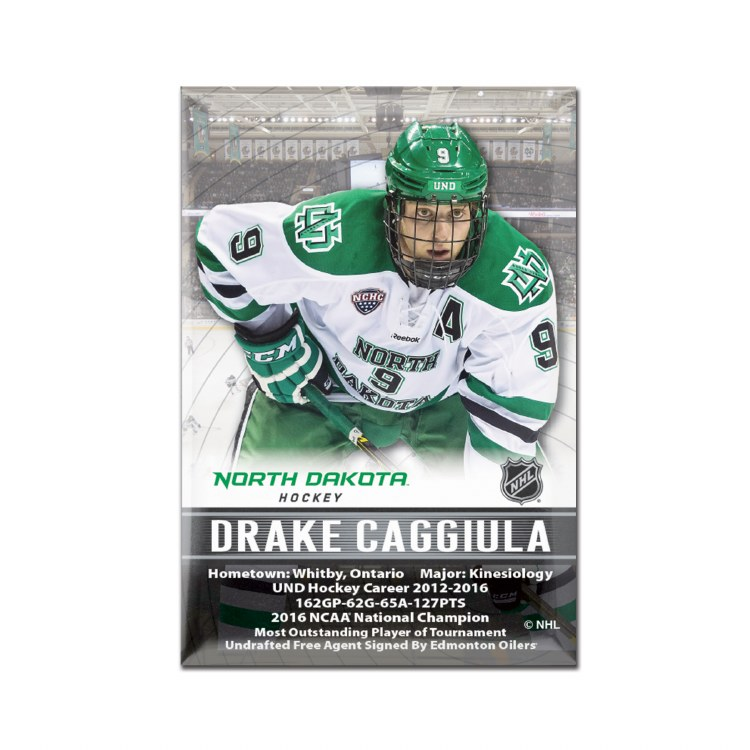 DRAKE CAGGIULA - UNIVERSITY OF NORTH DAKOTA ALUMNI MAGNET