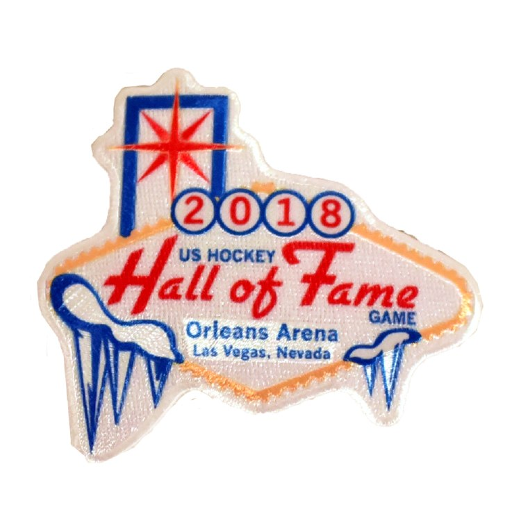 2018 HALL OF FAME GAME JERSEY PATCH