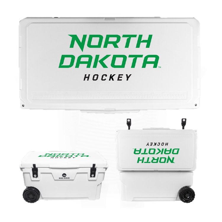 BIG FRIG NORTH DAKOTA HOCKEY WHEELED COOLER