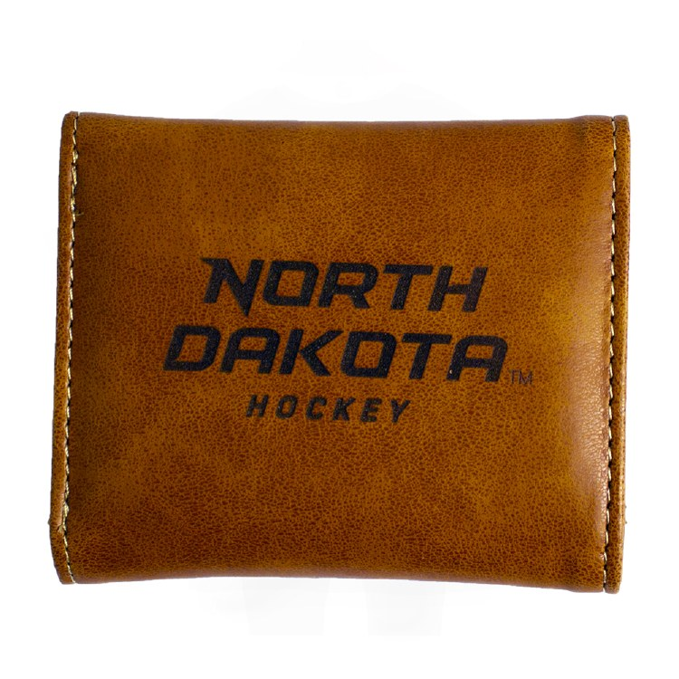 UNIVERSITY OF NORTH DAKOTA HOCKEY TRIFOLD WALLET