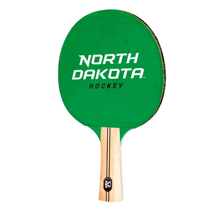 UNIVERSITY OF NORTH DAKOTA HOCKEY TABLE TENNIS PADDLE