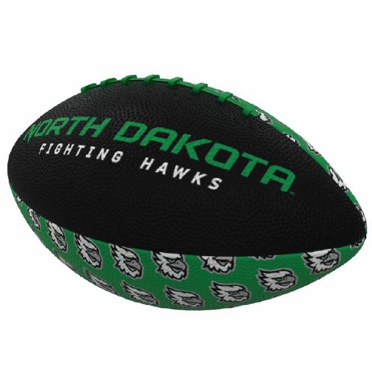 UNIVERSITY OF NORTH DAKOTA FIGHTING HAWKS MINI FOOTBALL