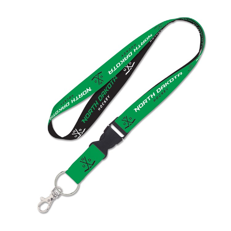 UNIVERSITY OF NORTH DAKOTA HOCKEY LANYARD