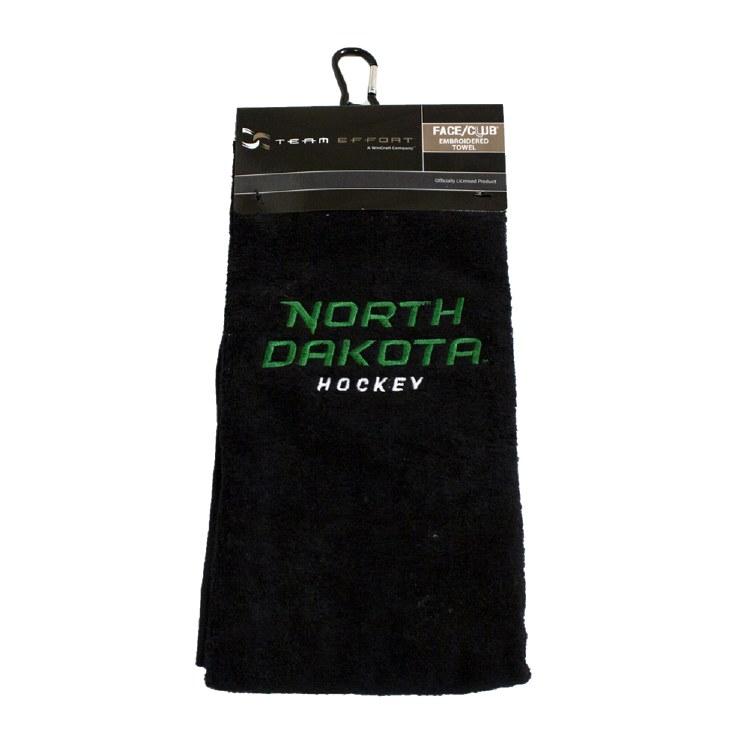 UNIVERSITY OF NORTH DAKOTA HOCKEY GOLF TOWEL