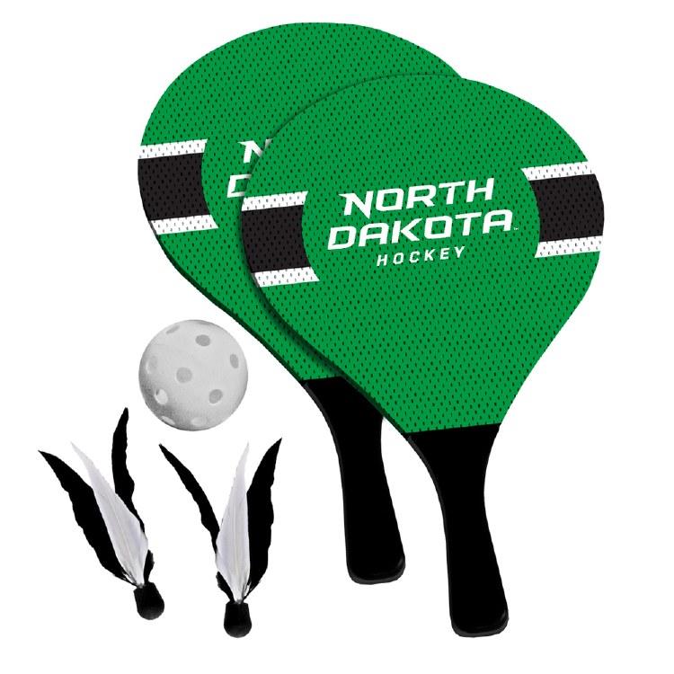 UNIVERSITY OF NORTH DAKOTA PADDLE BIRDIE SET