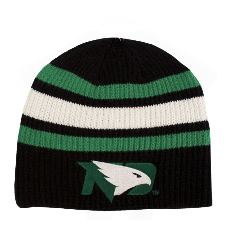 UNIVERSITY OF NORTH DAKOTA FIGHTING HAWKS ADULT BEANIE