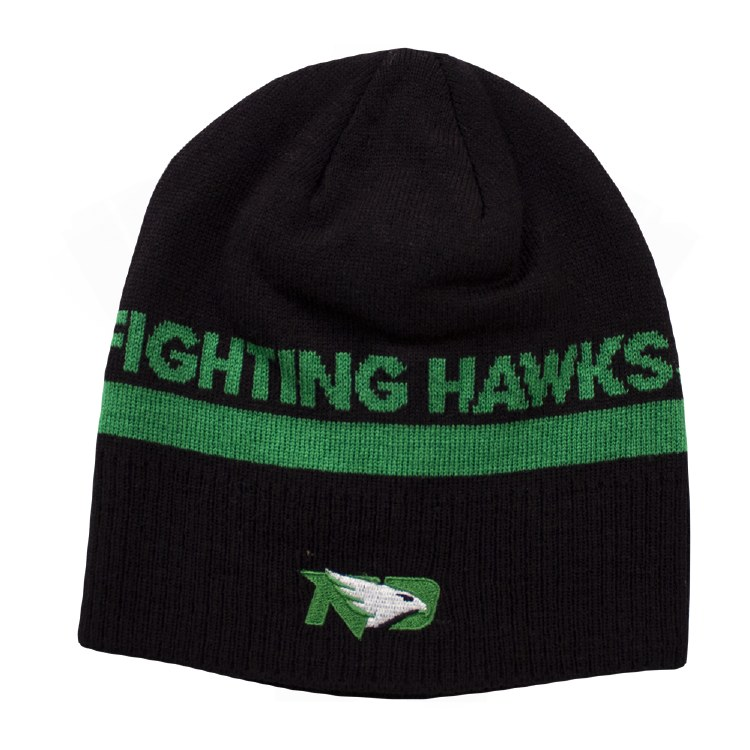UNIVERSITY OF NORTH DAKOTA FIGHTING HAWKS ADIDAS BEANIE