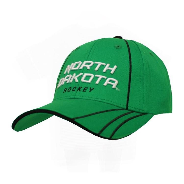 UNIVERSITY OF NORTH DAKOTA HOCKEY STRIPES HAT