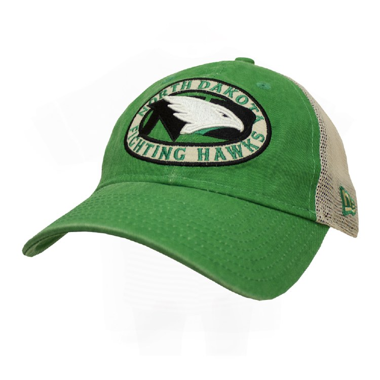 UNIVERSITY OF NORTH DAKOTA FIGHTING HAWKS PATCHED PRIDE CAP