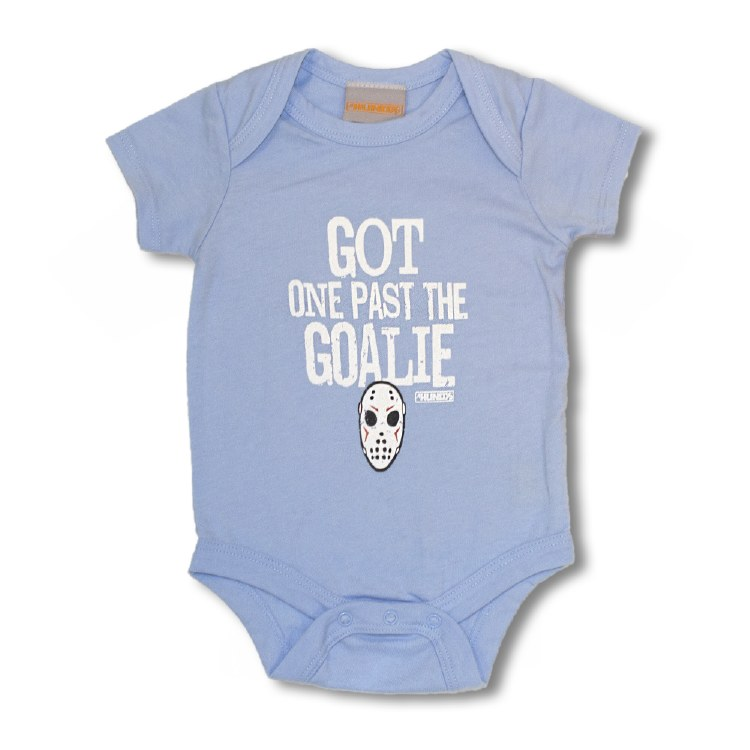 PAST THE GOALIE ONESIE