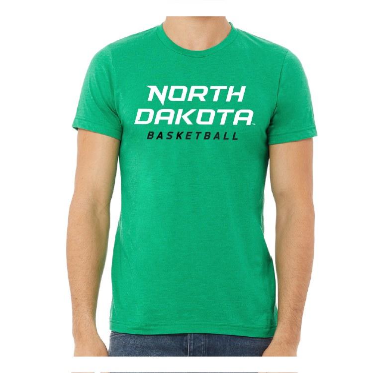 UNIVERSITY OF NORTH DAKOTA BASKETBALL TEE