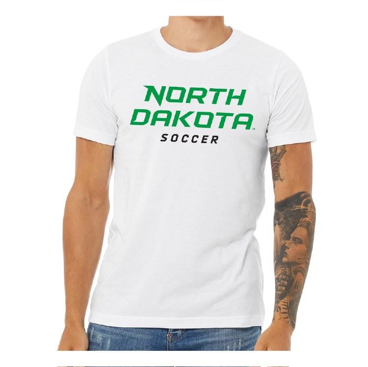 UNIVERSITY OF NORTH DAKOTA SOCCER TEE