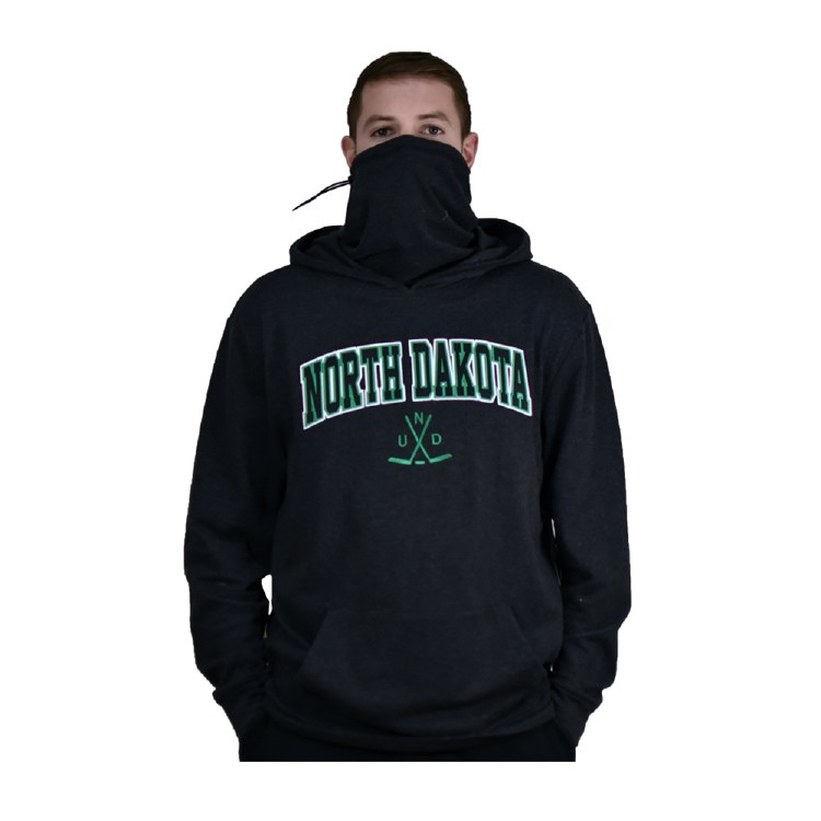 UNIVERSITY OF NORTH DAKOTA GAITER SPACE DYE HOOD