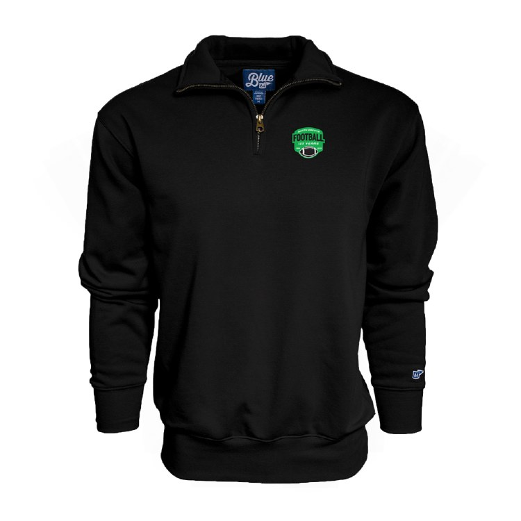 UNIVERSITY OF NORTH DAKOTA FOOTBALL 125YR 1/4 ZIP