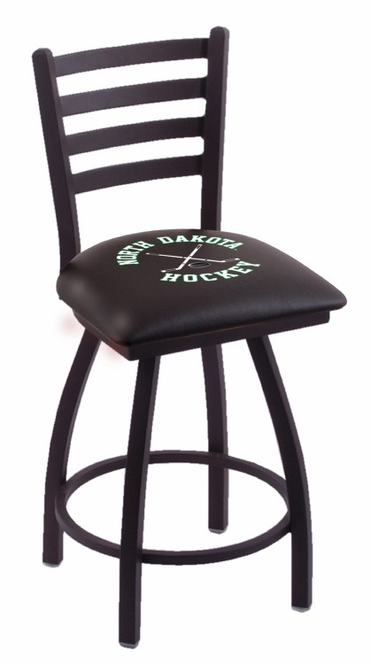 HIGH BACK STOOL - NORTH DAKOTA HOCKEY