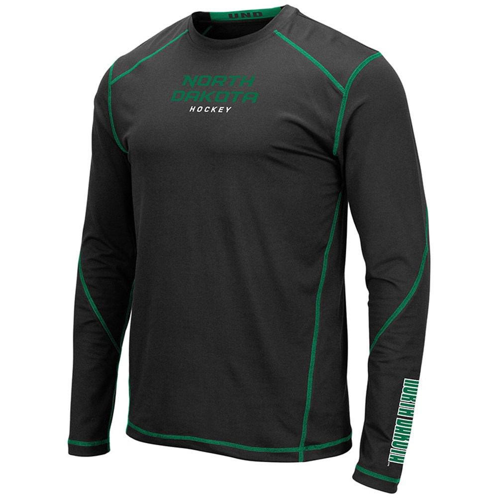 UNIVERSITY OF NORTH DAKOTA HOCKEY SMITHFIELD LONG SLEEVE TEE