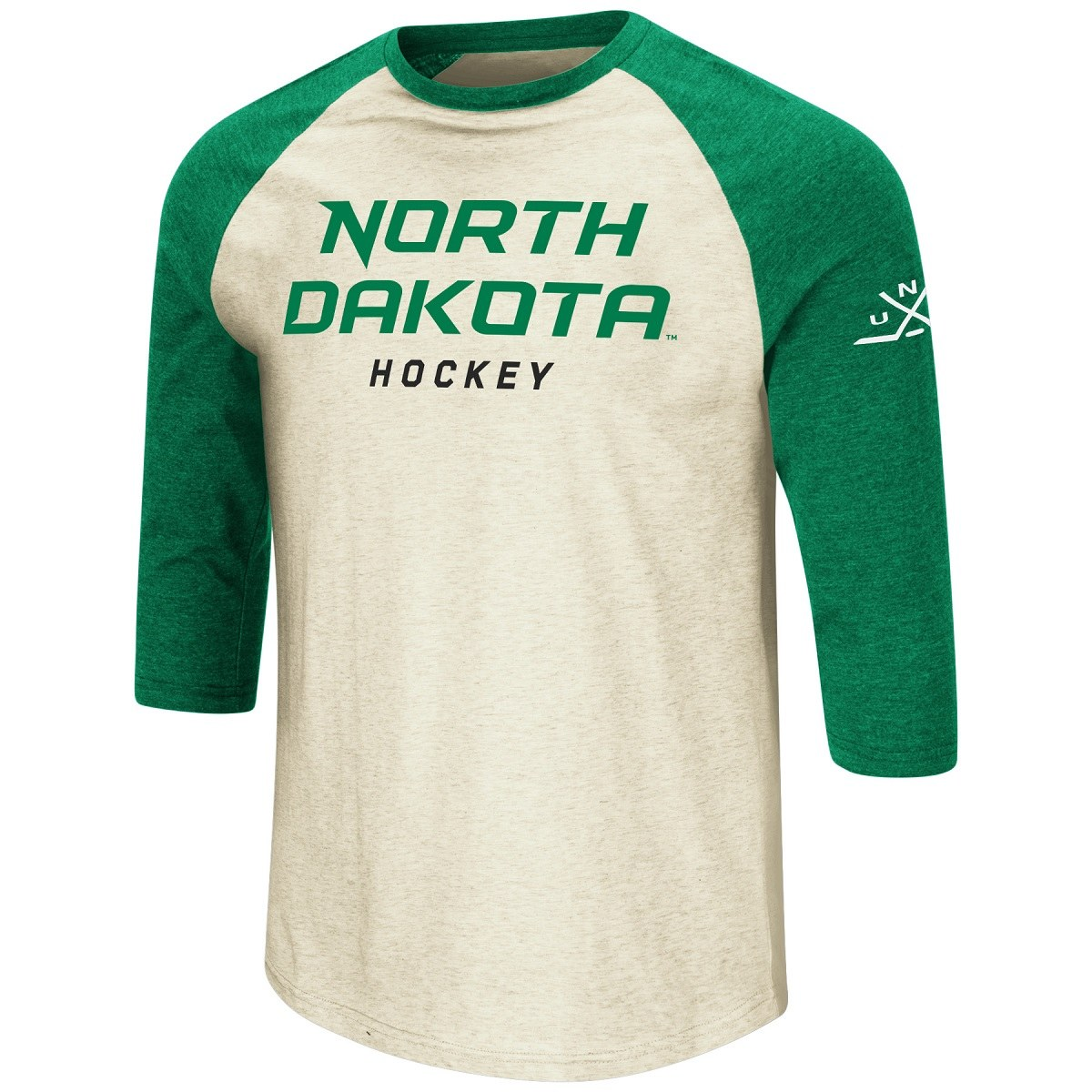 UNIVERSITY OF NORTH DAKOTA HOCKEY JUICE BASEBALL TEE
